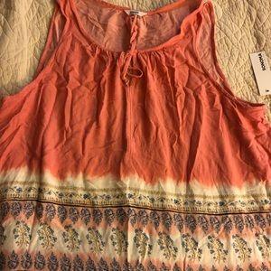 Sonoma Sleeveless Shirt Size XXL